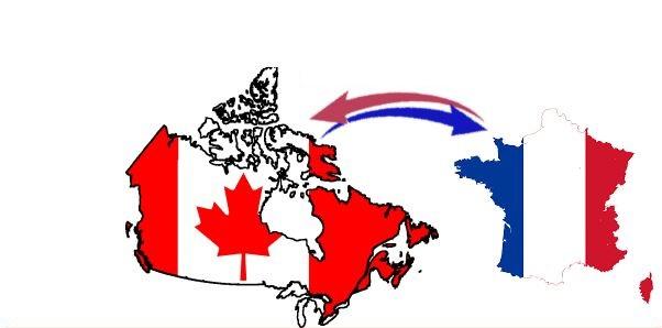 Importation CANADA <--> FRANCE